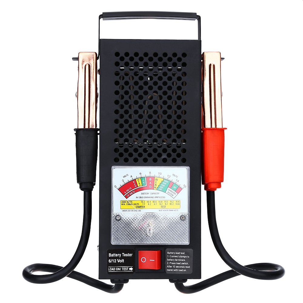 OLSUS Duable Automotive Vehicular 6V 12V Battery Tester
