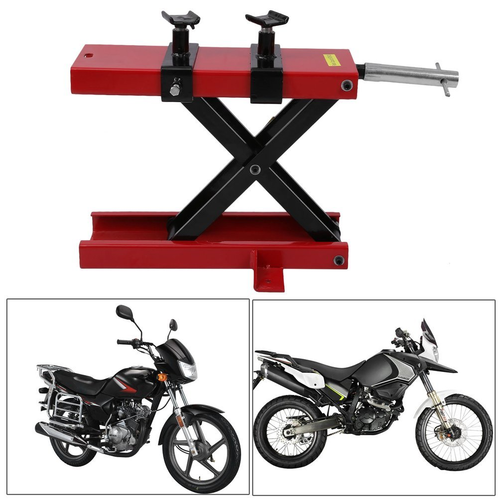 Blackpoolal Motorcycle Lift,500kg Motorcycle Bike Stand Workshop Stand Motorbike Paddock Lift Jack