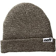 NEFF Heather Fold Cuffed Beanie Unisex Best Soft Winter Hat Cap