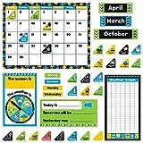 Trend Enterprises, Inc. T-8390 Bold Strokes Calendar Bulletin Board Set