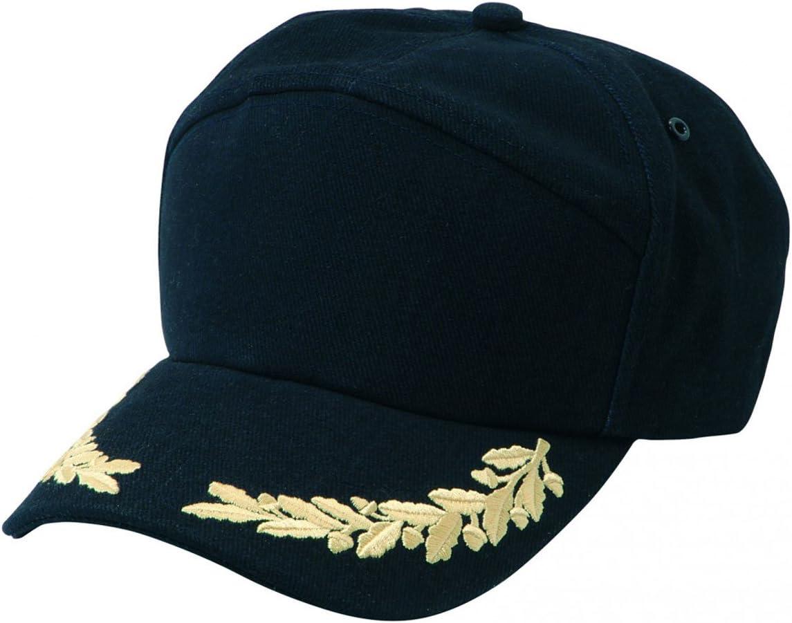 Gorra de estilo marinero Nauticalia con detalles de oficial ...