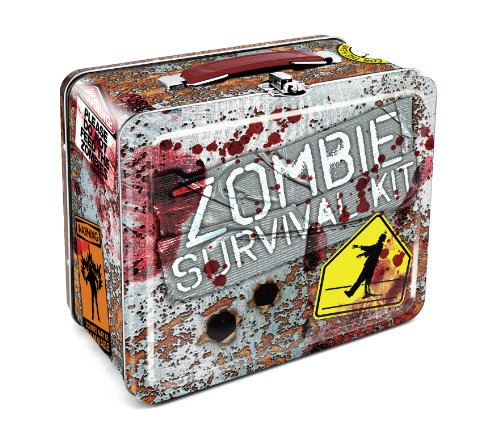 Aquarius Zombie Survival Large Tin Fun Box