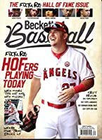 New Current Beckett Baseball Card Monthly Price Guide Value Magazine March 2018 Mike Trout Future Hall of Fame Issue