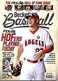 best seller today New Current Beckett Baseball Card...