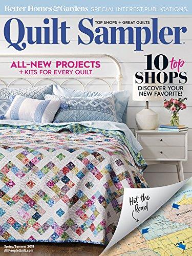 Sampler Magazine - Quilt Sampler Magazine Spring Summer 2018 (10 Top Shops) (82)