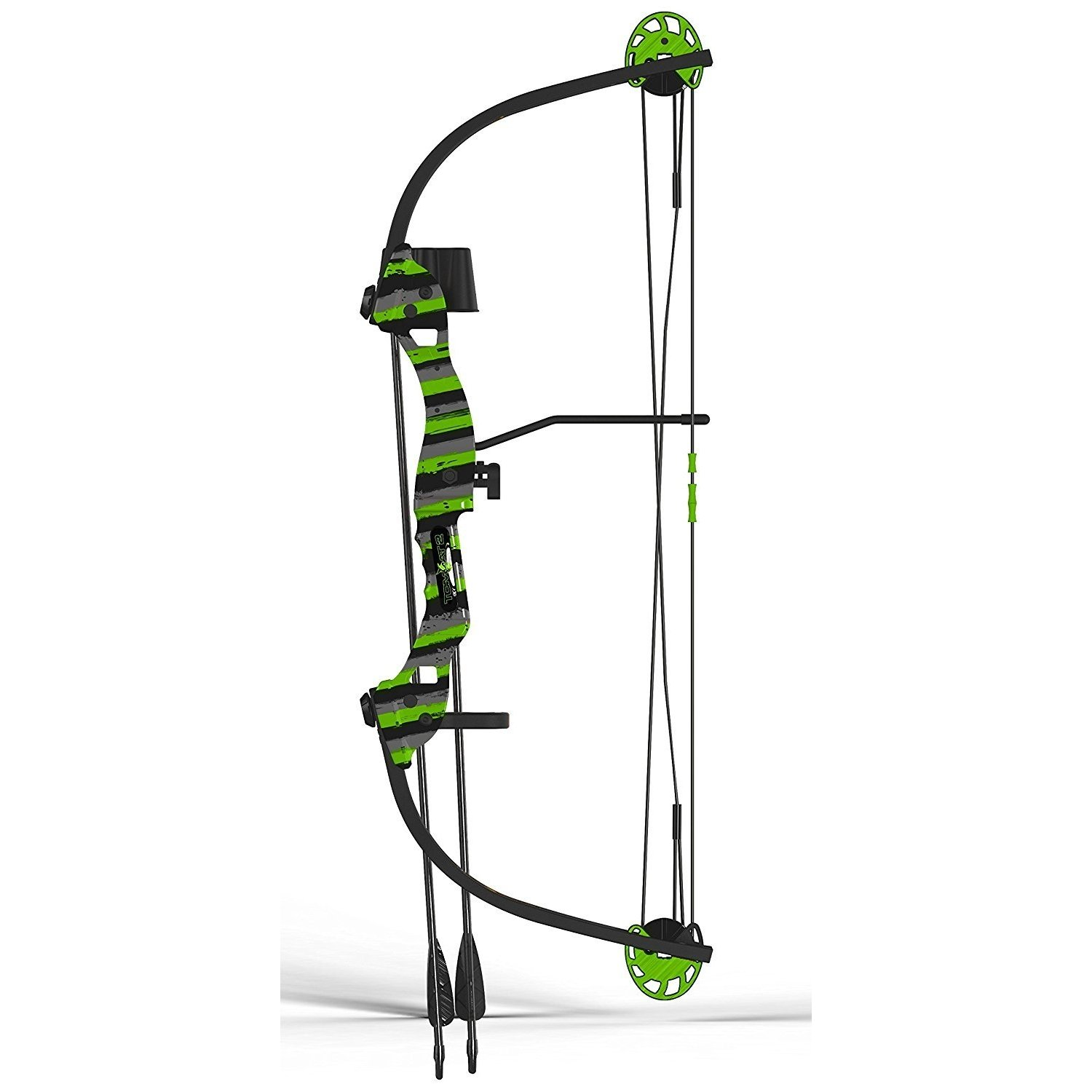 By-Arnett Kids Compound Bow, Tomcat-2 Youth Set Girls Compound Bow For Kids, Green