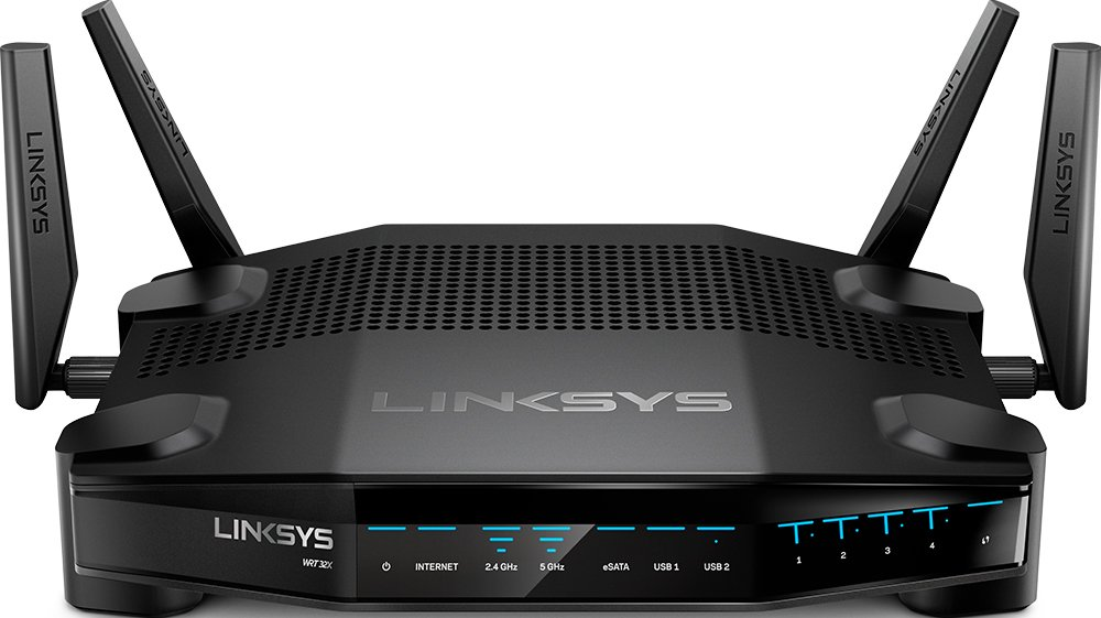 Linksys AC3200 Dual-Band WiFi Gaming Router with Killer Prioritization Engine (WRT32X) 1 The first router purpose built to prioritize gaming The Killer Prioritization Engine identifies, prioritizes and accelerates gaming network traffic above all else, to reduce peak ping by up to 77 percent Synchronizes with Killer enabled PCs  from brands such as Alienware, Gigabyte, MSI and Razer