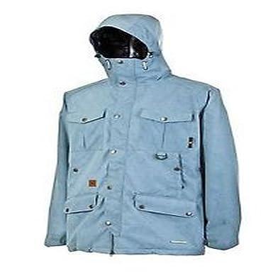 Per Amazon Snowboard Outerwear L L1 Giacca it Blu Uomo Essex aqtwU7