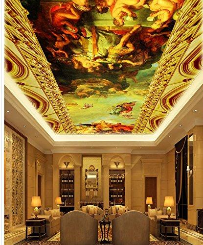 Wapel Decoration De La Peinture Classique 3d Personnalisee Plafond