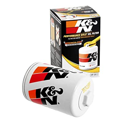 K&N Premium Oil Filter: Designed to Protect your Engine: Fits Select BUICK/CADILLAC/CHEVROLET/FORD Vehicle Models (See Product Description for Full List of Compatible Vehicles), HP-2011: Automotive