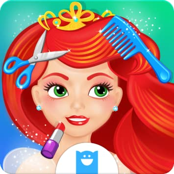 Amazon princess hair makeup salon makeover game for girls princess hair makeup salon makeover game for girls solutioingenieria Images