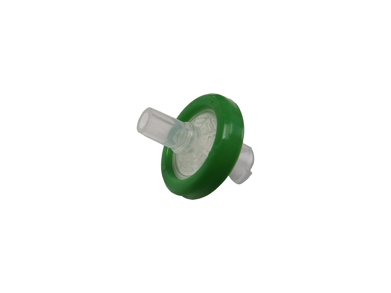 Argos Technologies FE12S Plastic Syringe Filters 13 mm Diameter PES Sterile Green.22 μm Pack of 100
