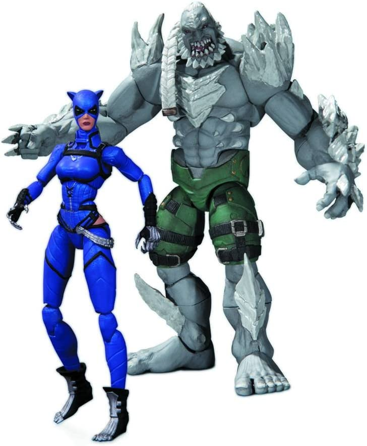 DC Collectibles Injustice: Catwoman vs. Doomsday Action Figure, 2 ...