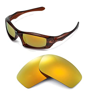 Polarized Ikon Replacement Lenses For Oakley Break Point Sunglasses - HD Yellow JNDJLy94Lr