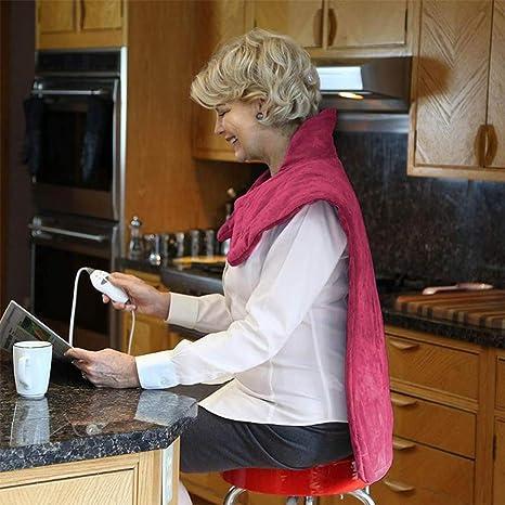 Amazon.com: Almohadilla de calor para masaje, 220 V, 70 W ...
