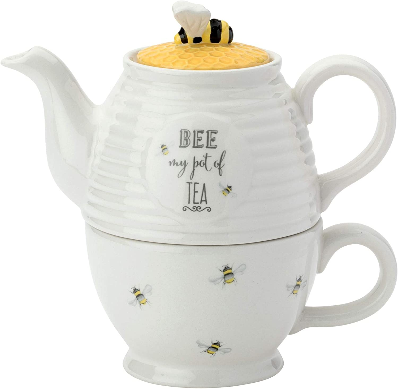 English Tableware Company Bee Happy Teapot