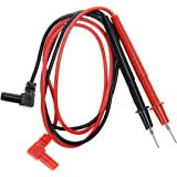 2Pair Banana Plug Multimeter Probe Pen Testing Connecting Cable Stick 2.6Ft 1000V Black Red for Digital Multimeter Meter Mult