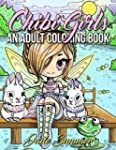 Chibi Girls: An Adult Coloring Book w...