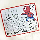 spiderman mouse pad - Personalized Rectangle Mouse Pad Graffiti Cartoon Character Calendar Rubber Mousepad (Spiderman)