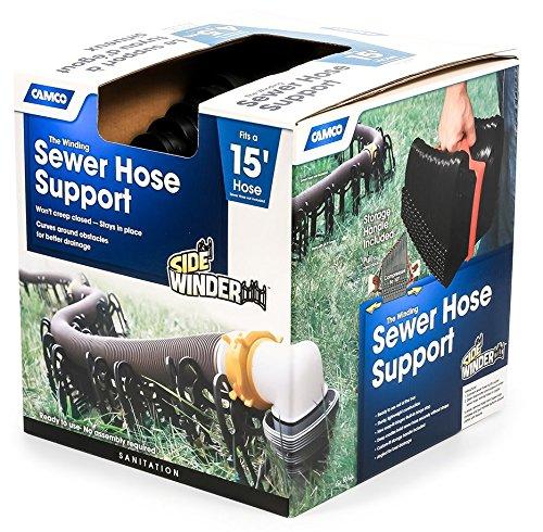 - Camco 43041 15' Camper Plastic Sewer Hose Support