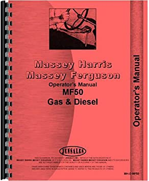 Massey Ferguson 44 Diesel Tractor Original Dealer/'s Parts Book