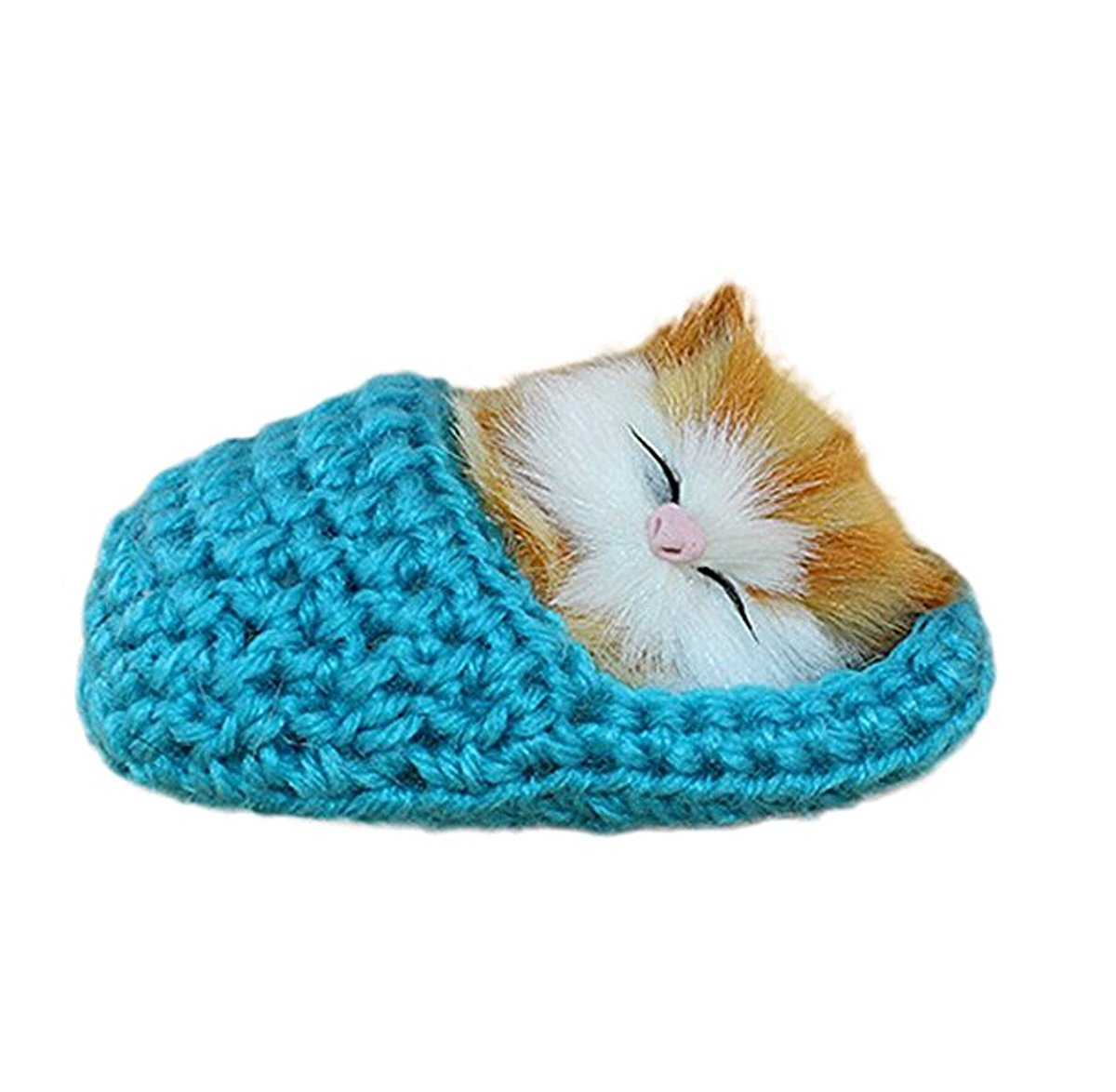 Baby Cute Plush Toys Appease Doll Simulation Sounding Cats Shoe Kittens