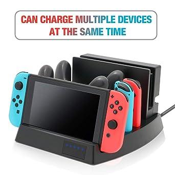 Controlador del cargador para Nintendo Switch, soporte de ...