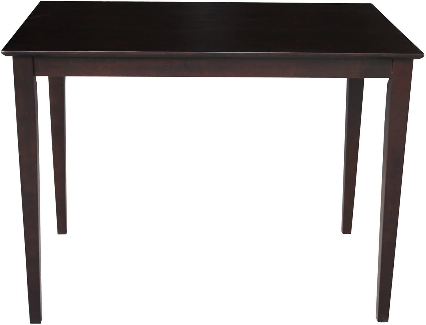 International Concepts Shaker Styled Counter Height Table, Java