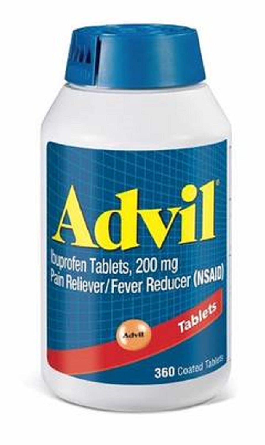Advil Pain Reliever/Fever Reducer, 200mg Ibuprofen