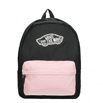 mochila negra mujer vans