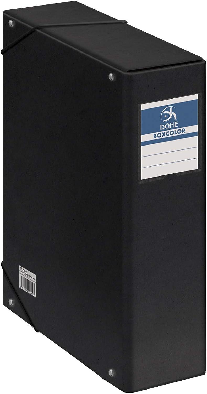 Dohe 9747 - Caja proyectos lomo 9 cm color negro