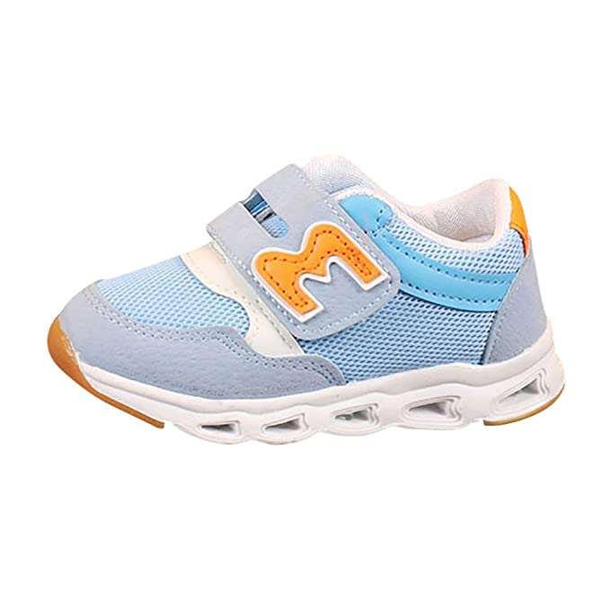 ❤ Zapatillas de Deporte para niños Zapatillas de iluminación LED, Niños Niños Niñas Niños Malla Carta LED Iluminar Zapatillas Luminosas Zapatos Absolute: ...