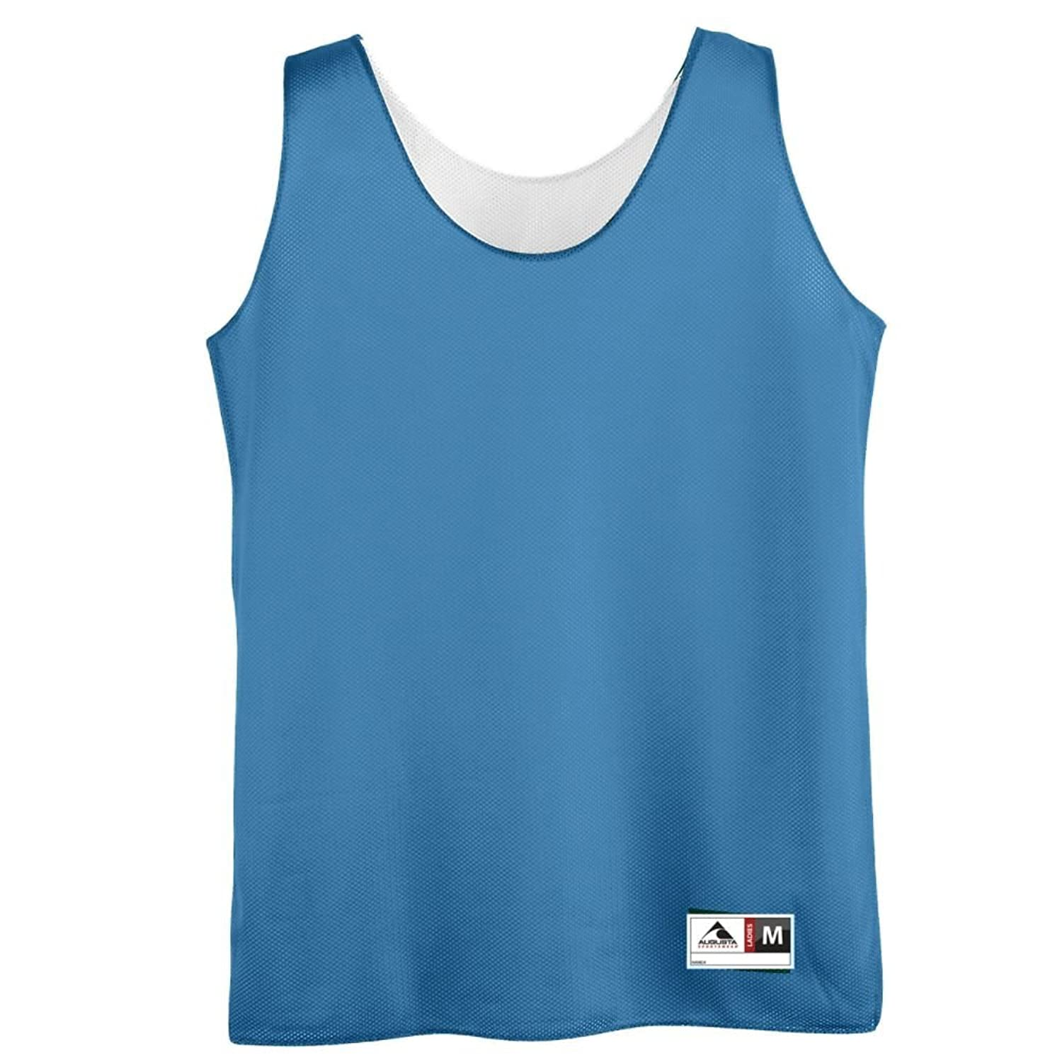 Ladies Reversible Mini Mesh League Tank - COLUMBIA MEDIUM