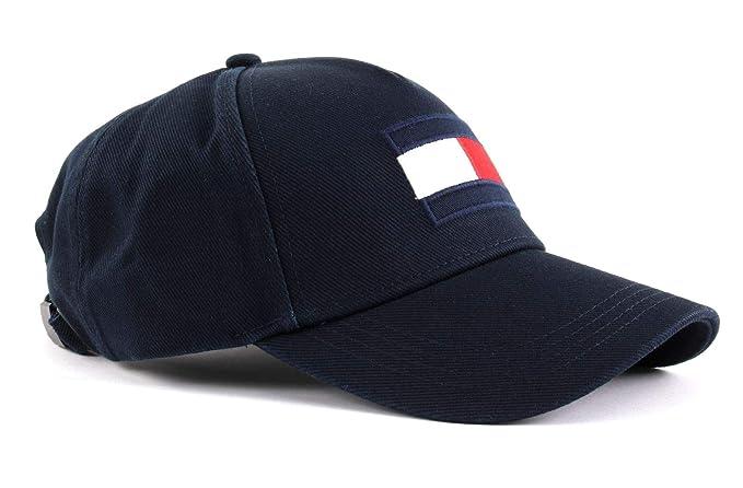 Tommy Hilfiger Flag Cap, Gorra de béisbol Hombre, Azul (Tommy Navy 413)