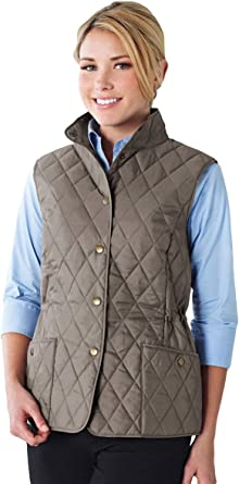 Lilac Bloom Womens Bailey Driftwood Wind Proof Water Resistant Vest SM