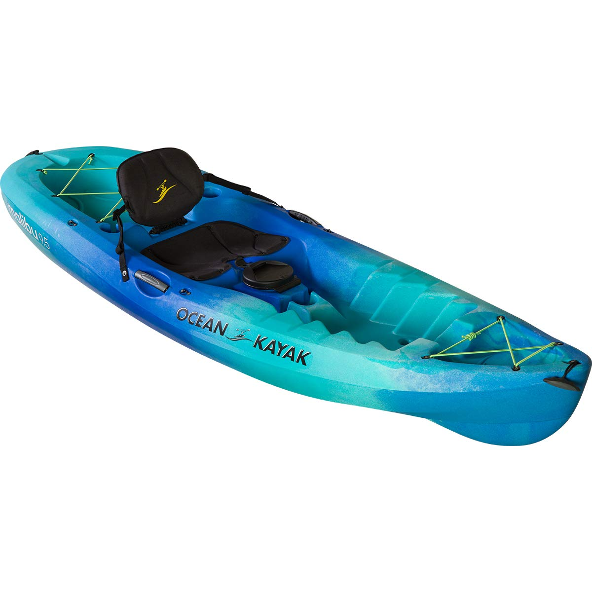 Ocean Kayak Malibu 9.5 Kayak (Seaglass, 9 Feet 5 Inches) by Ocean Kayak