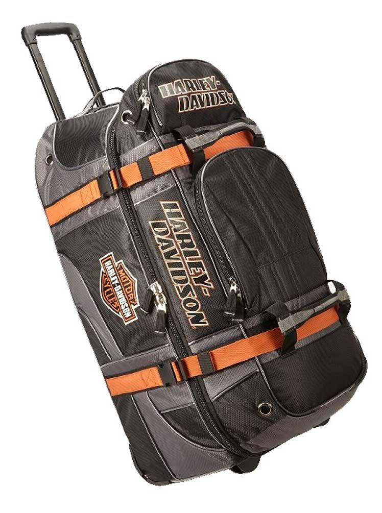 Harley Davidson 33'' Wheeled Equipment Duffel, Black