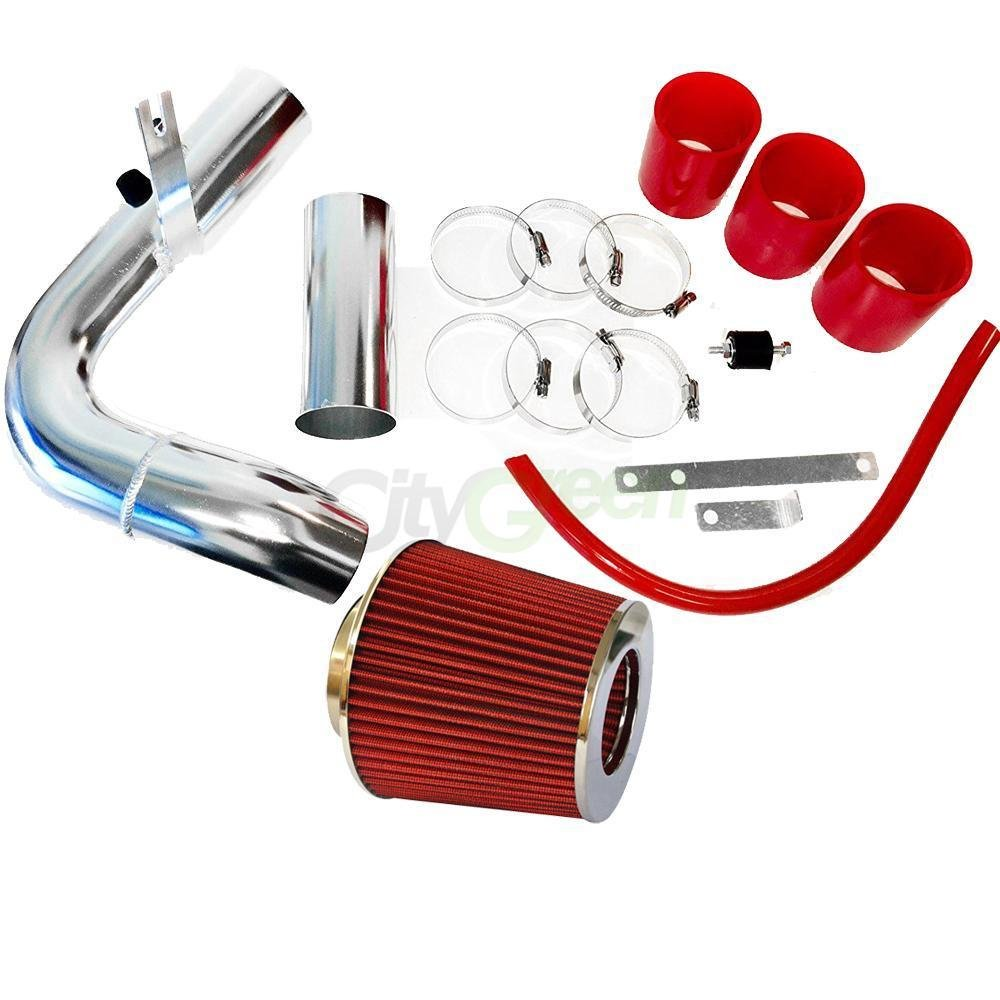Performance Cold Air Intake Kit with Lifetime Red Oiled Filter for 2000-2005 Dodge Neon 2.0L Engine