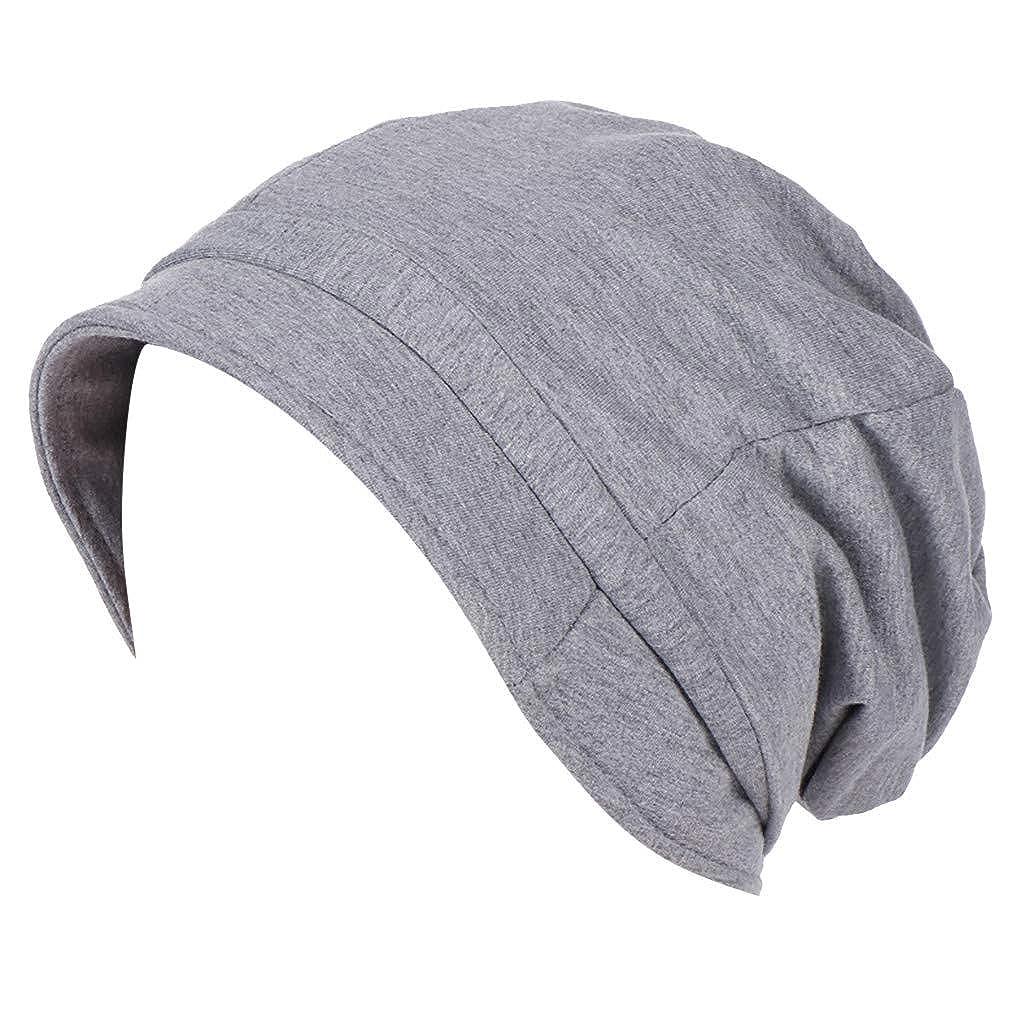 KUDICO Caps Unisex Kopftuch Hut Leichte Sommerm/ütze Klassische Slouch Long Beanie Muslim M/ütze Elastisch Kappe Turban Schlafm/ütze