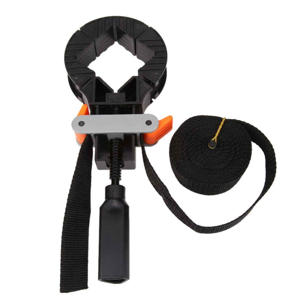 TOOGOO Multifunction blet clamp Woodworking Quick Adjustable Band Clamp Polygonal clip 90 Degrees Right Angle Corner Photo Frame Clips by Toogoo (Image #3)