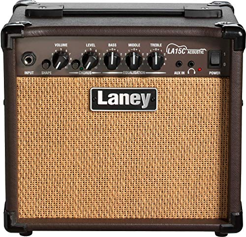 Hughes Guitar Amplifier - Laney Acoustic Guitar Amplifier (LA15C)