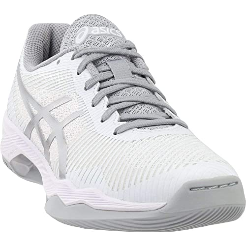 ASICS Women's Volley Elite FF MT Volleyball Shoes, White