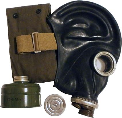 GP-5 - Máscara de gas (goma, tallas 0