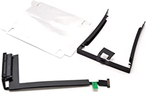 """Deal4GO 2.5"""" HDD Caddy Enclosure Bay with Right Side Hard Disk Drive Cable Connector + Sticker for Lenovo Thinkpad P50 P51 00UR836 DC02C007C10"""