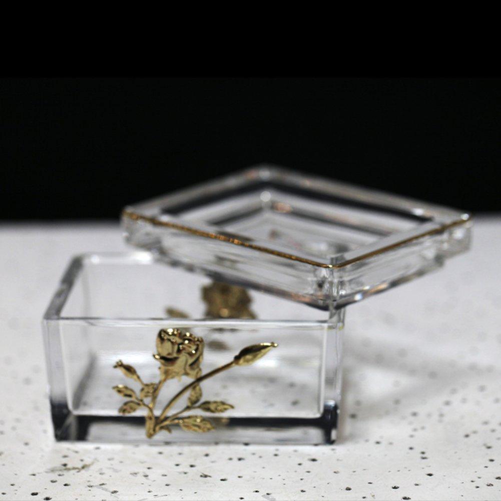 Wangs European-style decorative crystal glass ashtray sleek-A
