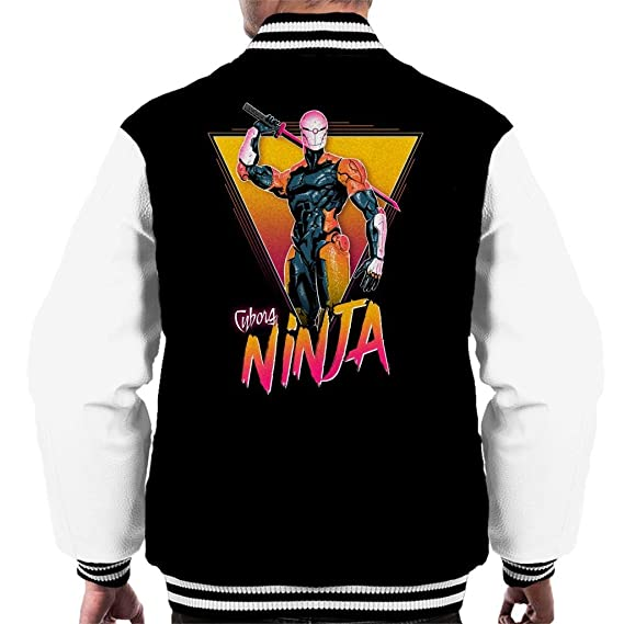 Metal Gear Solid Cyborg Ninja Mens Varsity Jacket at Amazon ...
