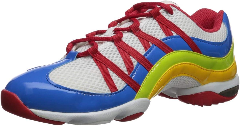 Wave Split Sole Dance Sneaker Shoe