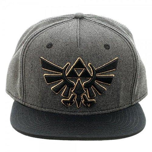 Bioworld Merchandising / Independent Sales Zelda Grey & Black Snapback SB394WNTN