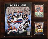 NFL Buffalo Bills 12x15-Inch All Time Greats Photo Plaque