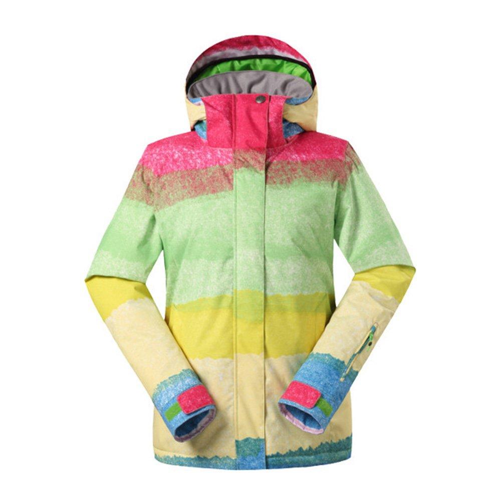 Wonny Brandneu 2 Teilig Skianzug Wasserdicht Schneeanzug Jacke und Hosen Unisex Skiset XS,S,M,L